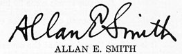 signature of Allan E. Smith
