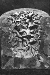 Figure 10. Crystal growth in gun metal casting dumped before solidification was complete.