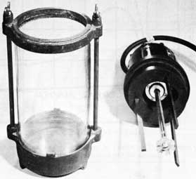 Figure 68. Jar and stirrer for washing sand.