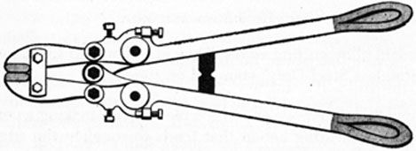 FIG 11. BOLT CUTTER.
