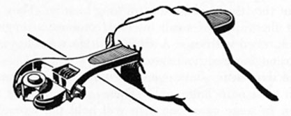 FIG. 19. ADJUSTABLE OPEN-END WRENCH.