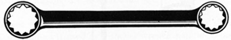 FIG. 21. BOX-END WRENCH.