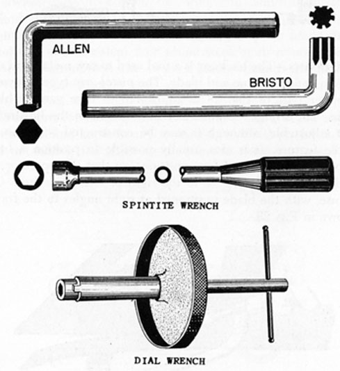 FIG. 27. SPECIAL WRENCHES.
