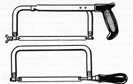 FIG. 28. HACKSAWS.