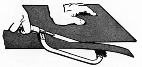FIG. 29. BLADE AT RIGHT ANGLES TO FRAME.