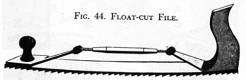 FIG. 44. FLOAT-CUT FILE.