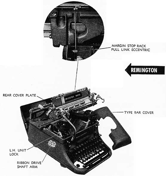 drawing of remington cover plates