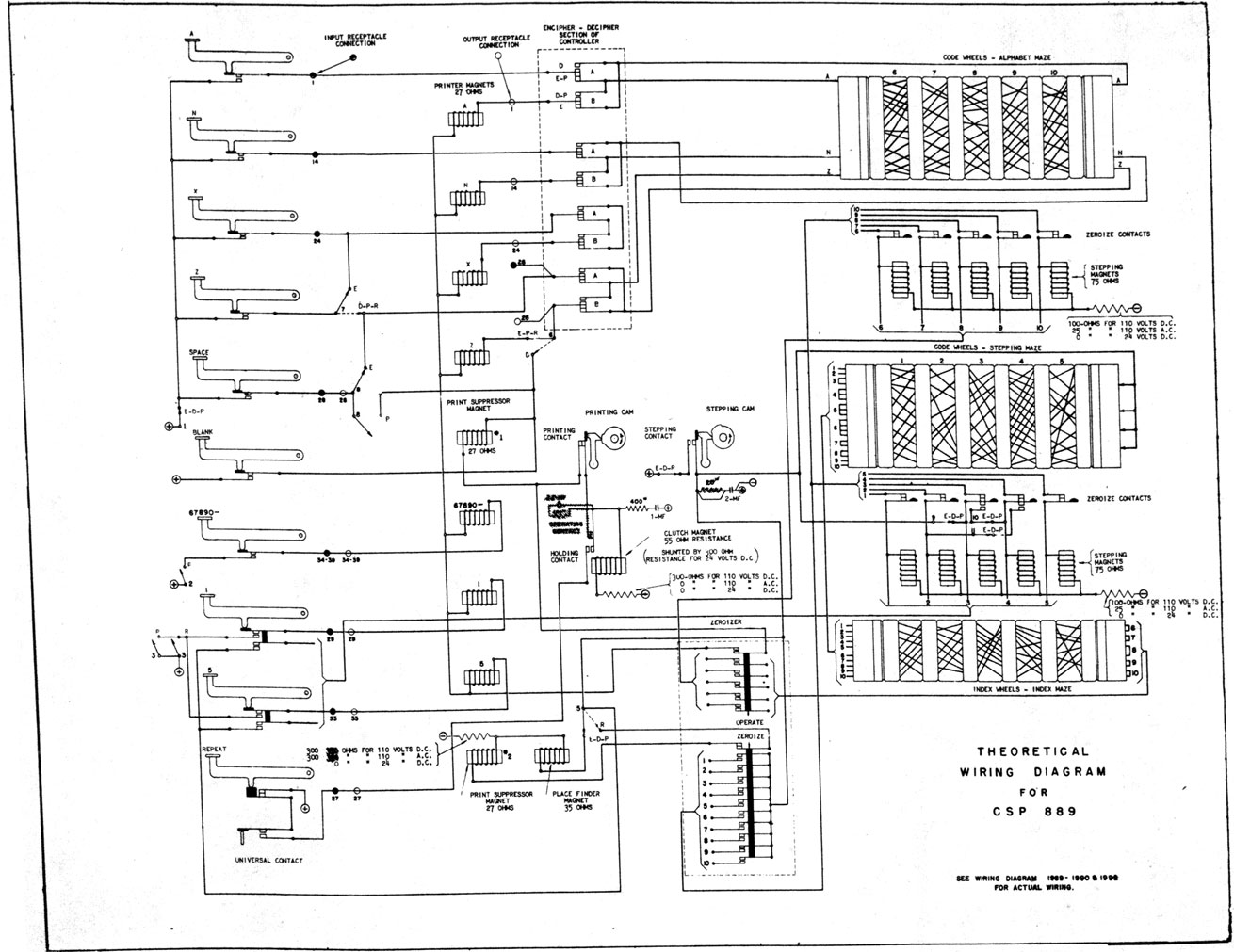 Ecm Mark 2 And Ccm 1 Part 5 Alcor Alternator Wiring Diagram Theoretical For Csp 889