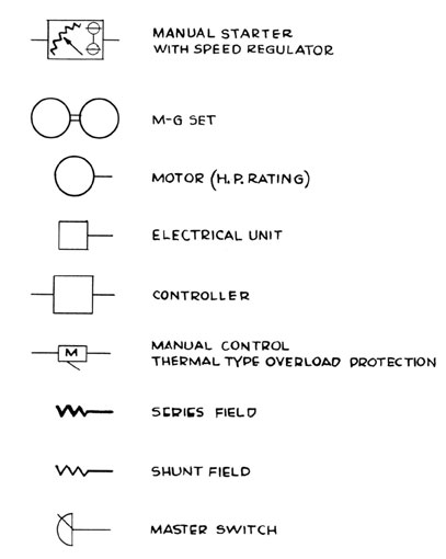 schematic symbol for heater panel