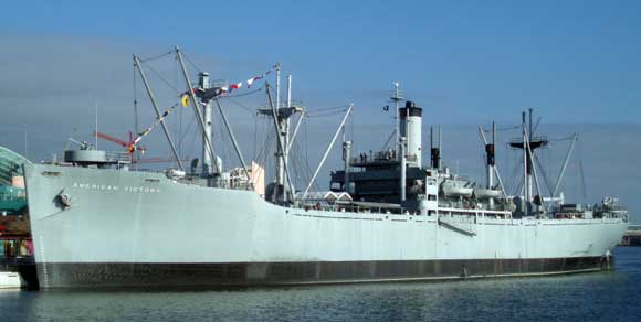Historic Naval Ships Visitors Guide Ss American Victory