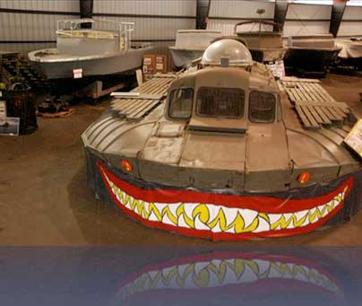 historic naval ships visitors guide   pac v hovercraftpacv hovercraft in the museum