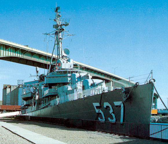 Historic Naval Ships Visitors Guide - USS The Sullivans